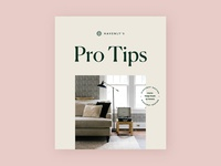 Havenly's Pro Tips booklet cover