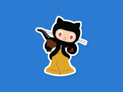 Github Philly Meetup stickers sticker liberty bell bell philly octocat github philadelphia