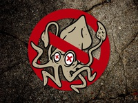 """Don't Be A Squid"" Logo"
