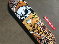 "Dagner Pipes ""Skull Logo"" and Skateboard"
