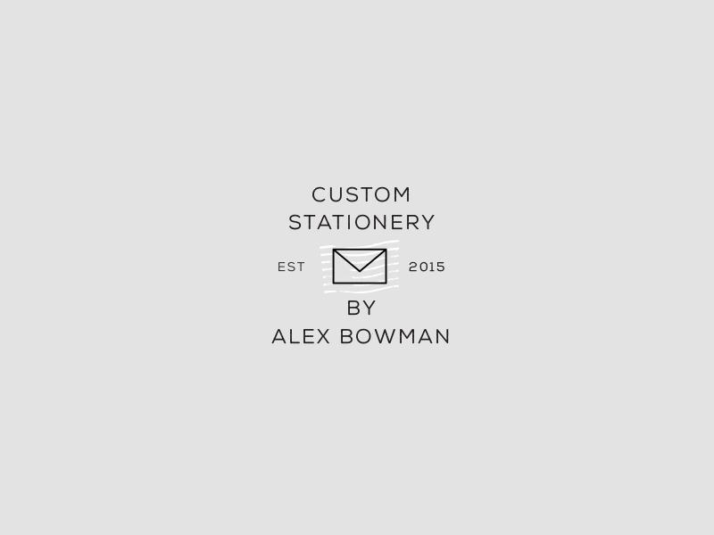 Imprimo Mark black clean type stationery typography branding secondary logo