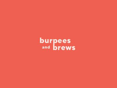 Burpees and Brews Wordmark