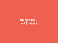 Burpees and Brews Wordmark