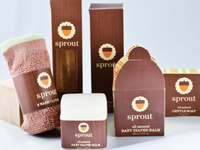 Sprout Baby Bath Product Packaging