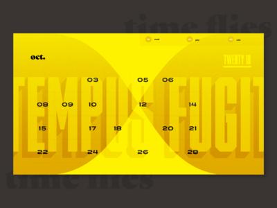 Calendar Iteration