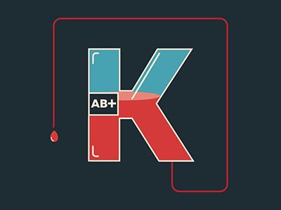 blood letter blood illustration