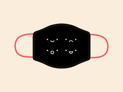 design for good mask – mood swings line mood illustration design mask covid19 covid