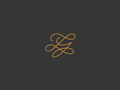 LY-F Monogram ly swirl merge symbol wedding logo monogram typography line