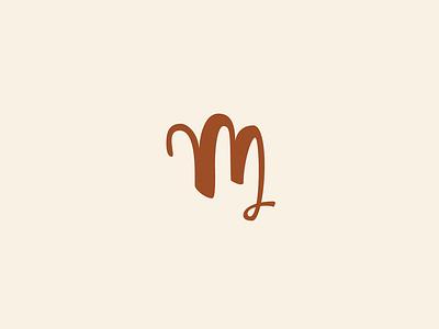 m wedding icon symbol lettering brush m logo monogram letter