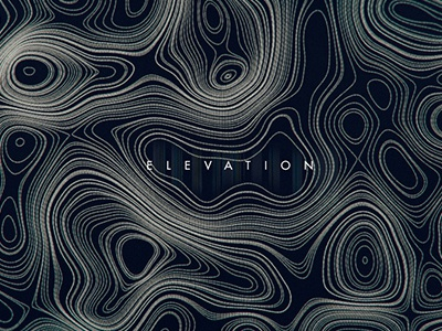 Elevation #3 experiment illustration abstract design