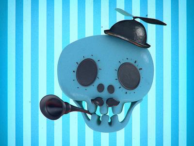 Nice hat sénior 3d skull hat