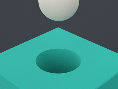 Geometry 02 render 3d redshift simple shapes