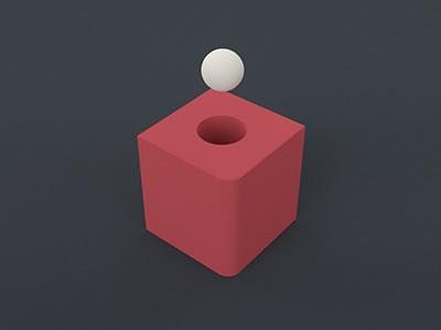 Shape 03 render 3d redshift simple shapes