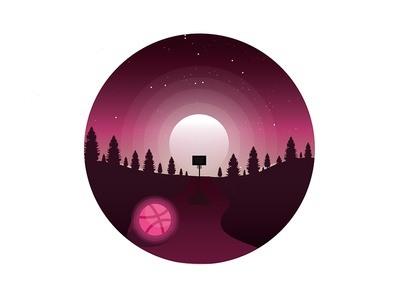 My first dribbble shot
