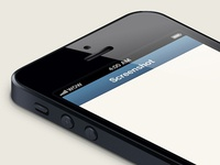iPhone 5 Isometric Template