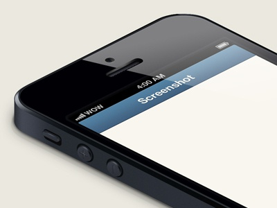 iPhone 5 Isometric Template iphone5 iphone 5 template isometric perspective vector