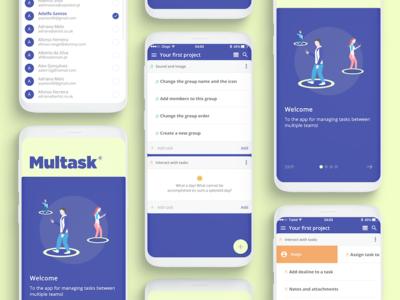 Multask - Event organizer concept app