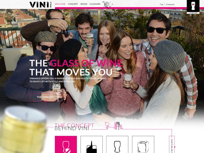 Split wine design 2014 wordpress theme ux ui