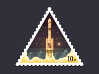 Triangular Stamp Start