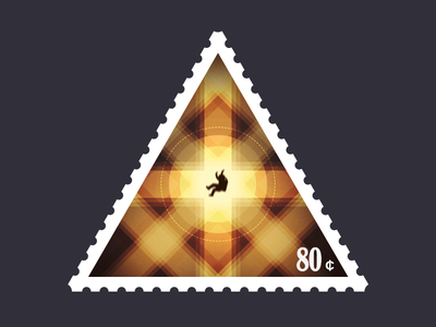 Triangular Stamp Inhalation