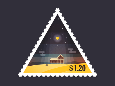 Triangular Stamp Return