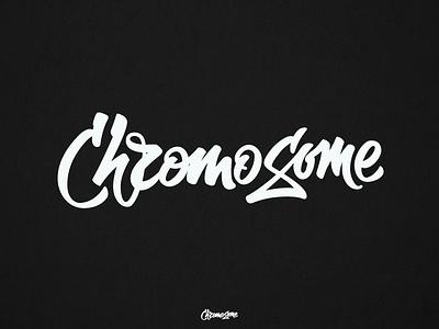 ChromoSome ligature logo calligraphy type typography handlettering lettering