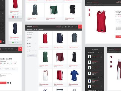 adidas Media Locker cart shopping ecommerce sports interface app ux ui adidas