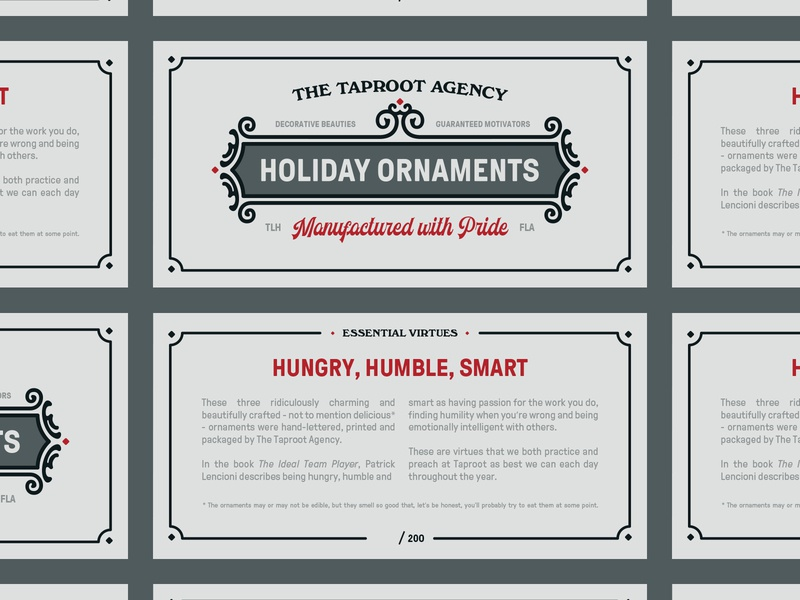 Holiday Ornament Header Cards cards header ornaments christmas holiday packaging
