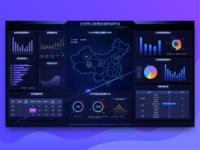 Public Security Bureau big screen data platform