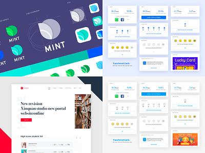 Itern's Top 4 shots 2018 cards design web app logo