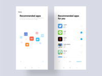 MIUI10 overseas system application recommendation