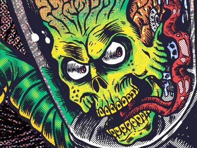 Mars Attacks skull mars attacks mars martians alien