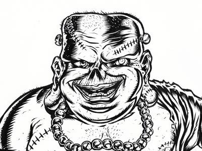 Franken Buddha frankenstien buddha