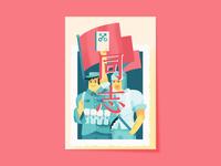 CHINESE SLANG CARDS - TÓNGZHÌ