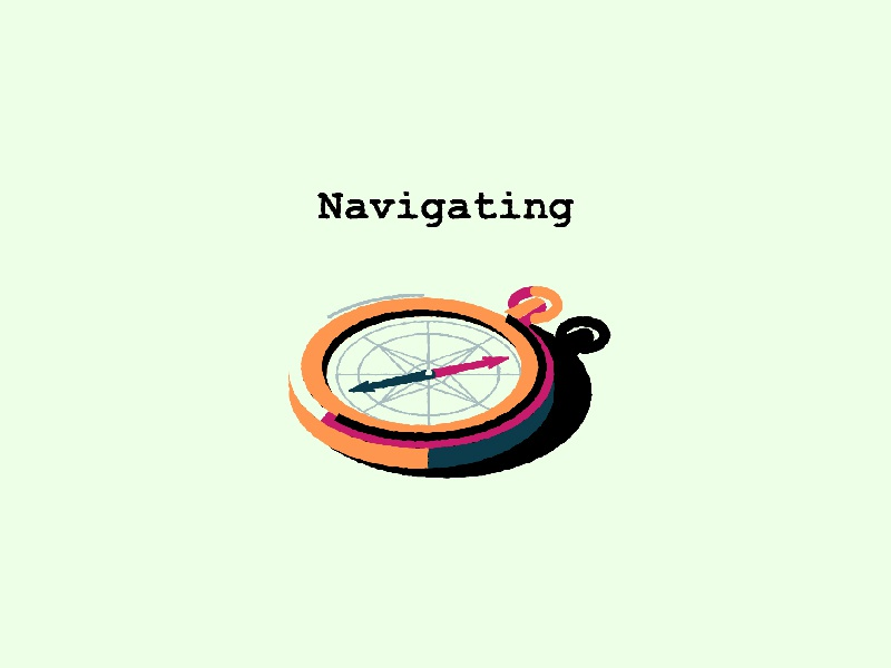 A little adventure: Navigating