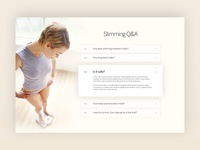 Q&A page