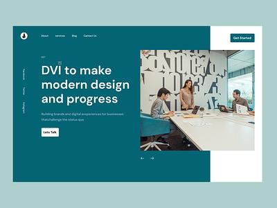 DVI - Website Design motion graphics animation vector clear bestdesign graphic design logo creative branding ux illustration uiux ui web design website