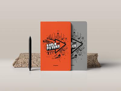 Notebook Cover - Design design illustration