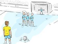 Free kick!