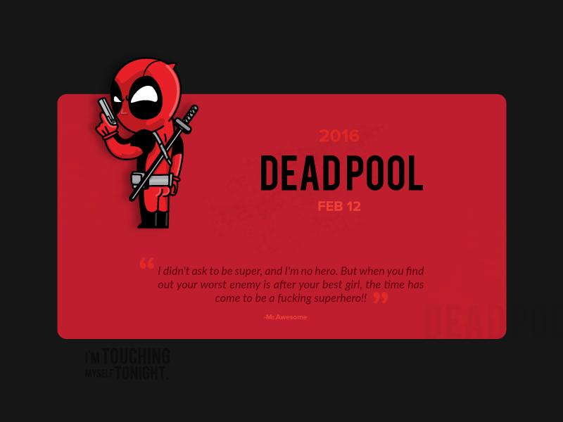 Deadpool by Adheedhan Ravikumar - Dribbble