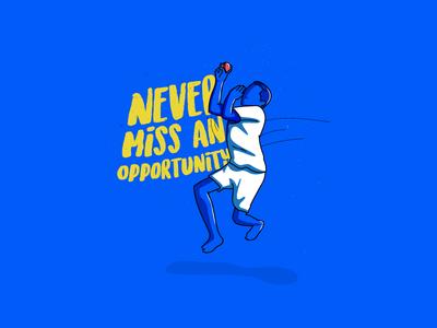 Bowler! hand drawn. cricket bowling illustration