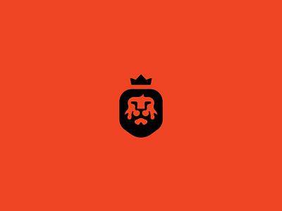 Lion king unused lion logo mark