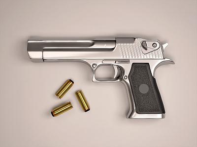 Handgun c4d vray zbrush gun handgun weapon render cg cinema 4d 3d