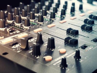 6 Channel Mixer mixer 3d c4d cinema 4d cinema4d buttons dof render rendering