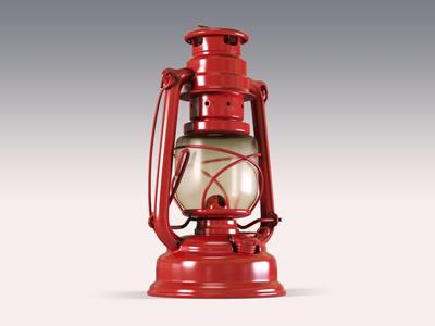 Red Lantern 3d lantern red c4d cinema 4d cinema4d vray