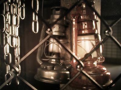 Lanterns lantern c4d 3d render cinema 4d dof vray