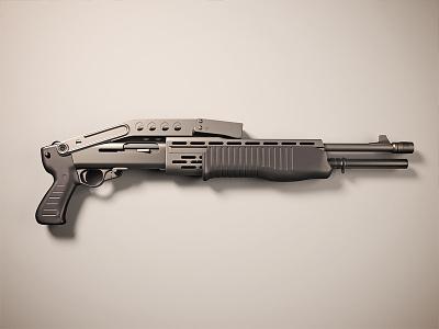 Shotgun shotgun gun c4d 3d render cg vray cinema 4d cinema4d