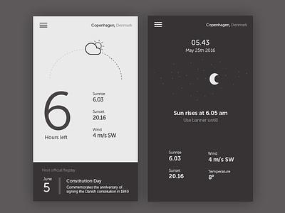 Flag app concept interface ui app