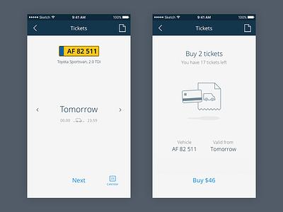 SKAT app service app interface ui