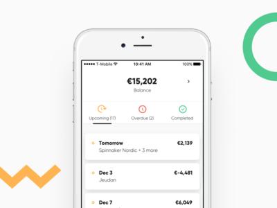 Banking app bank ux ui interface app